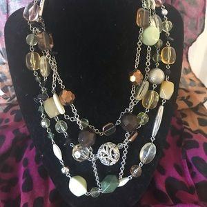 Lia Sophia Fall statement necklace